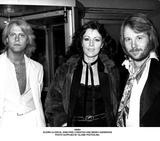 ABBA Photo - Abba Bjorn Ulvaeus Anni-frid Lyngstad and Benny Anderson Photo Supplied by Globe Photosinc