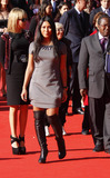 Anggun Photo - Indonesian Singer Anggun Arrives at the Ambassador Fao Event at the 4th Rome International Film Festival at Auditorium Parco Della Musica in Rome Italy on October 16th 2009 Photo Alec Michael-Globe Photos Inc 2009