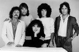 Bruce Hall Photo - Reo Speedwagon Neal Doughty Bruce Hall Gary Richrath Kevin Fronin and Alan Gratzer Photo by SmpGlobe Photos