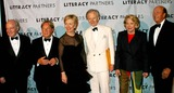 Arnold Scassi Photo - Literacy Partners Host 20th Annual Gala an Evening of Readings at Lincoln Center in New York City 5032004 Photo Byrick MacklerrangefindersGlobe Photosinc 2004 Jack Welch Arnold Scassi Hillary Clinton Tom Wolfe Liz Smith and Parker Ladd