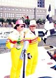 Chuck Norris Photo - Speed Boat Racing Chuck Norris and AL Copeland Photo Michael Ferguson  Globe Photos Inc 1990 Chucknorrisretro