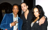 Andre Royo Photo - Flaunt Magazine 5 Year Anniversary Issue Party at the Lowe Gallery Santa Monica CA 120603 Clinton H WallaceipolGlobe Photos Inc 2003 Andre Royo Ness Bautista and Bianca Larson