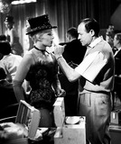 Kim Novak Photo - Kim Novak and Makeup Man Benny Lane on the Set of Pal Joey 1957 Supplied by Globe Photos Inc Kimnovakretro