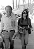 Raquel Welch Photo - Raquel Welch with Frined James Aubrey at 500 Race CA 951971 8402 Photo by Phil RoachipolGlobe Photos Inc