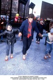 JFK Jr Photo - brooklyn Charity Event John Kennedy Rollerskates with Underprivileged Kids Photo by Jon BarrettGlobe Photos Inc