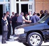 Left Eye Lopes Photo - Funeral Services For Lisa Left Eye Lopes Georgia 050202 Photo by John KrondesGlobe Photos Inc2002 Whitney Houston