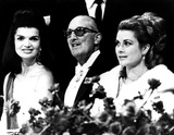 Jacqueline Kennedy Onassis Photo - Jacqueline Kennedy Onassis and Princess Grace Supplied by Globe Photos Inc Jacquelinekennedyonassisobit